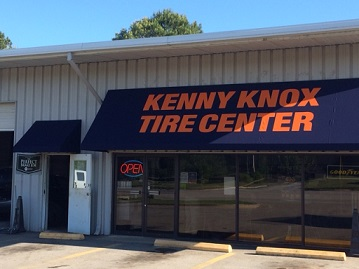 Kenny Knox Tire Center storefront